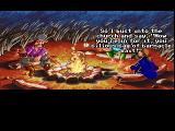 Monkey Island 2: LeChuck's Revenge FM Towns Guybrush boasting about his adventures