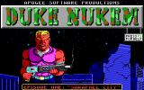 Duke Nukem DOS title screen