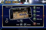 NBA Jam iPhone Controls