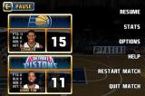NBA Jam iPhone Game pause