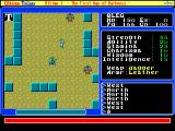 Ultima Trilogy: I ♦ II ♦ III FM Towns U1: visiting a town