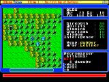 Ultima Trilogy: I ♦ II ♦ III FM Towns U1: battles occur on the world map. Here, two nasty wizards are trying to kill me