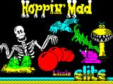 Hoppin' Mad ZX Spectrum This is the game's title screen