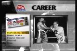 Foes of Ali 3DO Career mode gives a VO of the history before the fight.