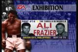 Foes of Ali 3DO Classic fight selections mimic boxing tickets.
