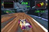Crash 'n Burn 3DO The car starts flaming as you take significant damage.
