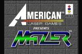 Mazer 3DO Title screen