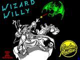 Wizard Willy ZX Spectrum The game's title screen