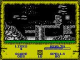 Wizard Willy ZX Spectrum Two kinds of object are shown here. The one above ground is good, the one on the ground is bad