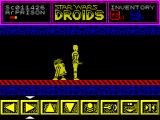 Star Wars: Droids ZX Spectrum A lot of the game is spent walking along corridors like this