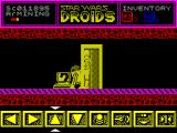 Star Wars: Droids ZX Spectrum Now on level 2, the mining level