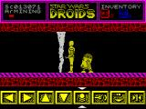 Star Wars: Droids ZX Spectrum This seems to be impassable, back the other way