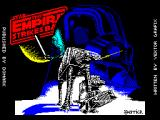Star Wars: The Empire Strikes Back ZX Spectrum This is the game's title screen.