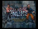 Aggressive Inline GameCube Title Screen