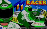TT Racer Amstrad CPC The game's title screen