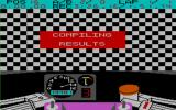 TT Racer Amstrad CPC After the end of the race the game updates the leader board