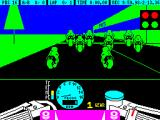 TT Racer ZX Spectrum The start of a 1 lap race round the Paul Ricard circuit