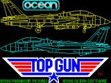 Top Gun ZX Spectrum This is the game load screen from the original 1986 Spectrum release
