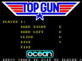 Top Gun ZX Spectrum If the player selects keyboard control they are automatically taken to the key definition screen