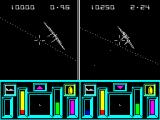 Top Gun ZX Spectrum Now both players are engaging their targets