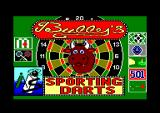 Bully's Sporting Darts Amstrad CPC Title screen