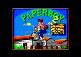 Paperboy 2 Amstrad CPC Title screen