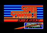 Super Scramble Simulator Amstrad CPC Title screen