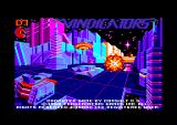 Vindicators Amstrad CPC Title screen.