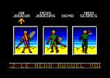 Windsurf Willy Amstrad CPC Difficulty selection.