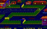 Bridge-It Amstrad CPC A walker has successfully crossed a bridge