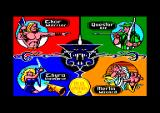 Gauntlet: The Deeper Dungeons Amstrad CPC Choose your hero.
