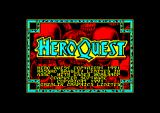 HeroQuest: Return of the Witch Lord Amstrad CPC Title. Too bad it was too much ported  from the ZX Spectrum version.
