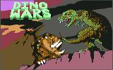 Dino Wars Commodore 64 Title screen