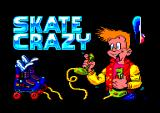 Skate Crazy Amstrad CPC Title screen.