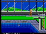 Olympic Gold: Barcelona '92 SEGA Master System About to dive