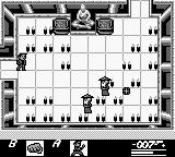 James Bond 007 Game Boy Entering the Temple