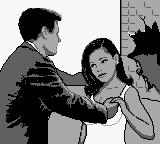 James Bond 007 Game Boy Some inappropriate touching from Bond.