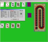Cribbage Master Windows 3.x Computer Hand Score