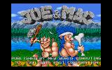 Joe & Mac: Caveman Ninja DOS Title and Copyright Information (U.S. Version)