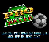 Kick Off 2 SNES Title screen (Japanese version)