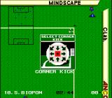 Kick Off 2 SNES Select the corner kick's direction