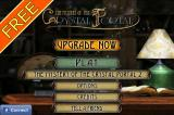 The Mystery of the Crystal Portal iPhone Main menu (free edition)