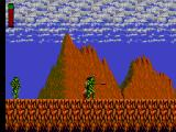 Rastan SEGA Master System Coming from behind