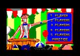 Fiendish Freddy's Big Top O' Fun Amstrad CPC Select the number of players or practice.