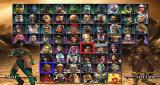 Mortal Kombat: Armageddon PlayStation 2 Character selection.