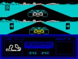 Slot Car Racer ZX Spectrum This was a two lap race. This is the end of lap 2. Therefore it is the end of the race
