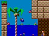 Sonic the Hedgehog Chaos SEGA Master System Bouncing around