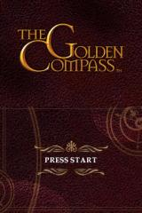The Golden Compass Nintendo DS Title screen.