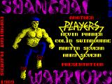 Shanghai Warriors ZX Spectrum The game's title screen