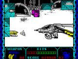 Shanghai Warriors ZX Spectrum Here the player's character has been killed but ...